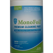MonoFoil Antimicrobial Wipes 75 count